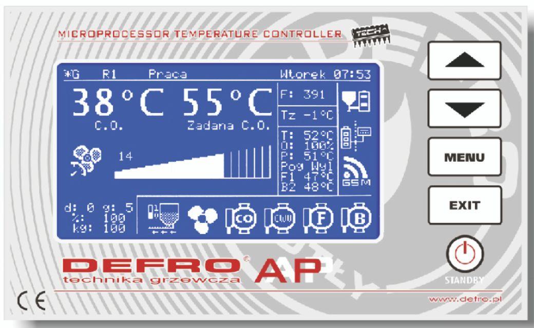 Sterownik do kotłów Defro AP