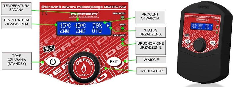 Sterownik Defro MZ