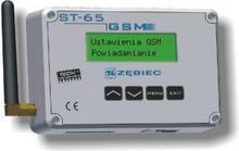 Moduł GSM ST-65 wysyła wiadomość o każdym alarmie sterownika kotła.
